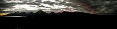 Twilight View (new_sox) Tags: red lake mountains clouds twilight streak wyoming tetons range jacksonlakelodge