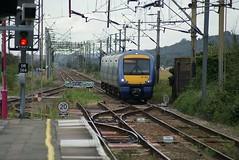 The Train Now Arriving... (crashcalloway) Tags: station train platform railway emu essex leighonsea c2c thamesestuary class357 minoltaamount