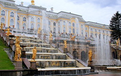 Peterhof: Versailles of East (oriana.italy) Tags: stpetersburg russia x grandpalace marble fountains goldenstatue peterhof img2380 greatcascade anawesomeshot theunforgettablepictures yellowpalace betterthangood orianaitaly goldenmasterpiece 64fountains victoryoversweden battleofpoltava