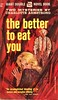 THE BETTER TO EAT YOU (sparkleneely) Tags: mystery vintage 1954 paperback terror pulp scaryclown scarybookcover didimentionthescaryclown