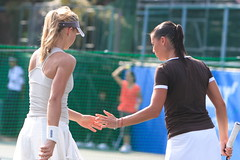 Maria Kirilenko and Flavia Pennetta