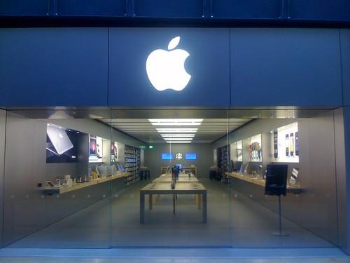 Cambridge's Apple Store.
