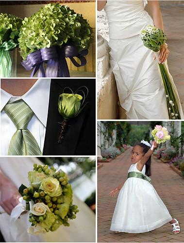 2876232475 a3ffeb5aa4 141 ideias de casamento verde e branco