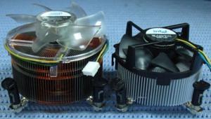 Comparativo entre os coolers LGA775 e LGA1366