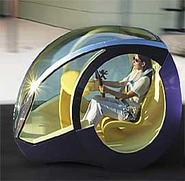 Sixth futuristic car photo, purple, Peugeot