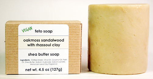 oakmoss sandalwood handmade soap