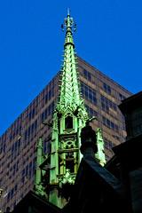 BM133 Saint Patrick's (listentoreason) Tags: newyorkcity sky usa newyork church architecture america skyscraper unitedstates cathedral scenic stpatrickscathedral favorites places olympus neogothic romancatholic saintpatrick score30 olympusc4040z c4040z