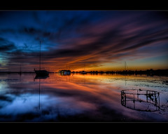 Velvet Morning ([ Kane ]) Tags: pink red sun water sunrise reflections point boats glow yacht australia brisbane pots qld kane hdr cray yabbie gledhill halloran aplusphoto great123 pointhalloran alemdagqualityonlyclub kanegledhill lesamisdupetitprince sunriseatpointhalloran kanegledhillphotography