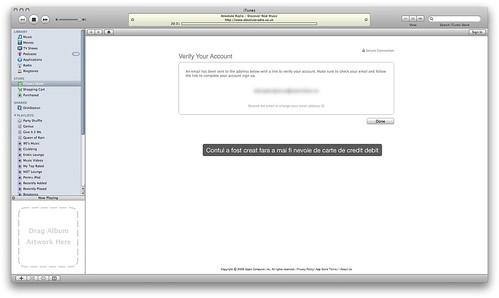 Vei primi un email pentru verificarea contului