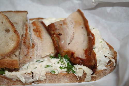 Pork Belly Sandwich from Konstam