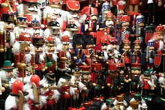 Nutcracker dolls - take 1