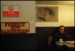 EX27 (Suzy Prior) Tags: old england people english cafe nikon alone martin chairs candid traditional documentary traditions oxford figure condiments oxfordshire cupoftea parr oap martinparr englishness drinkingtea enlglishness