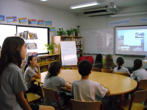 Flat Classroom Skype by superkimbo, on Flickr