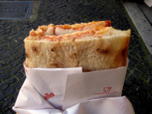 Vatican City: Pizza