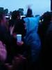 thirsty blue lady; radiohead gig, glasgow green/27.06.08 (macgruff .. on / off !! V/Busy) Tags: people rain portraits scotland glasgow drinks gigs concerts radiohead bluelady glasgowgreen rainmac