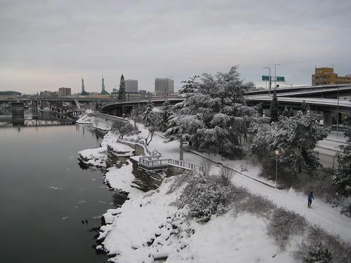 Snowy Cityscape 2