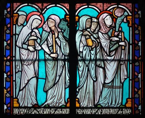 008 Vitral nº 8 claustro de Notre Dame de Paris