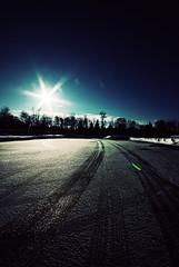 (bcymet) Tags: sun star nikon tracks utata d80 thursdaywalk utata:project=tw141