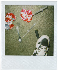 Untitled No. 7 (Ryan Christopher VanWilliams - NYC) Tags: street nyc newyorkcity red urban stilllife ny newyork streets classic peru brooklyn speed polaroid newjersey williams bronx manhattan cia smoke flash nj coke spoon disney nike smoking crack queens needle drugs syringe illegal drug bodega nicaragua polaroids cocacola heroin dope statenisland dust katemoss coca ghetto donaldduck junkie contra polaroid600 yayo snuff cocaine dunk nuevayork narcotics boliva junky pcp syringes nikedunk vanwilliams rvw nuevajersey urbanluxury ryanchristophervanwilliams rcvw ryanchrisophervanwilliams