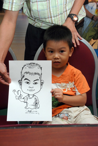 Caricature live sketching for Marina Square Day 2 - 2