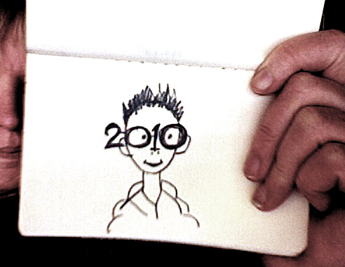 Sketch for 2010 Glasses