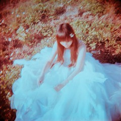 in the dream (Karren) Tags: bride holga dream cocoa karren    holga120cfn   karren309