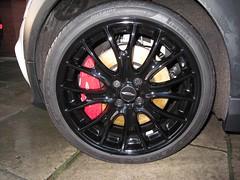 "R113 18"" John Cooper Works Cross Spoke Wheel (Stuntman Mike) Tags: mini pepperwhite pirelli jcw johncooperworks r113 r56"
