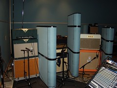 Amp overdub session