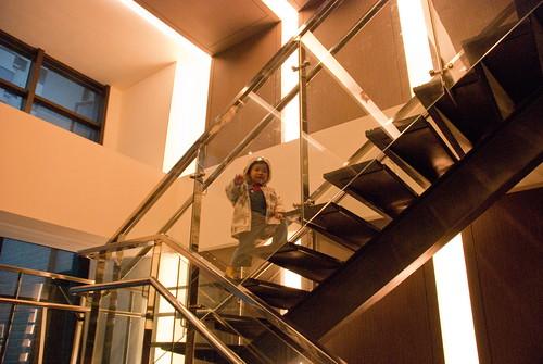 樓上是健身房