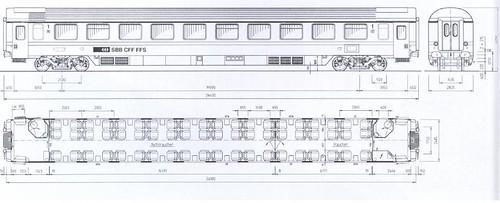 Train Chartering - Swiss rail SBB First seat plan