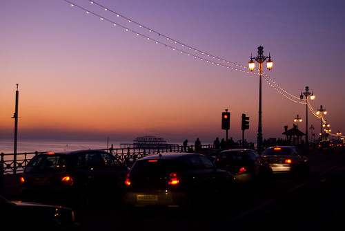 Road Along The Waterfront, Brighton