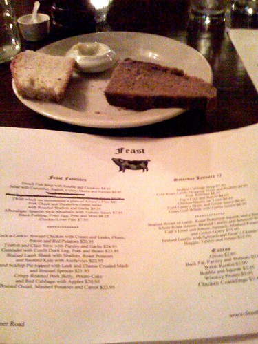 Feast Houston - Menu