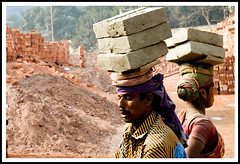 Brick Field Worker (Tipu Kibria~~BUSY~~) Tags: people woman man brick canon eos lifestyle labour worker bangladesh xti canon1785mmisusm 400d narayangonj excapture qualitypixels purinda crickfield