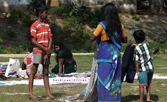 Drying out (. | Sathiyan) Tags: 2008 tamilnadu trichy kallanai sathiyan