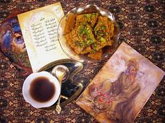 My Sweet Night... (Mahsa3611) Tags: night poem iran tea shiraz ایران mahsa hafez sohan چای حافظ فالحافظ شیراز auspice مهسا فال گرما mahsa3611