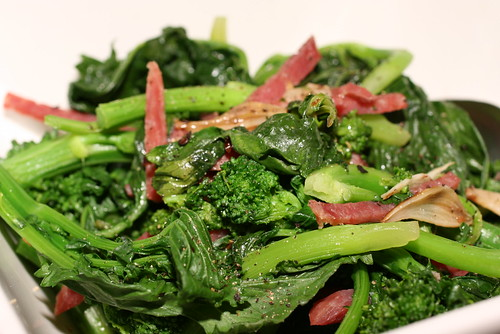 broccoli rabe with calabrese 2