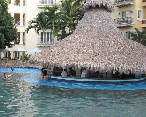 The Grand Bay Hotel swim-up bar