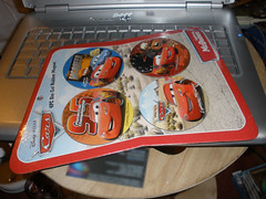 Cars magnets for O & N..