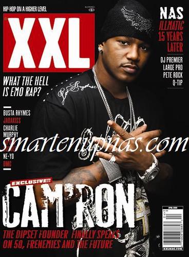 Camron xxl magazine cover shoot