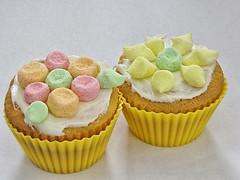 Easiest Flower Cupcakes Ever