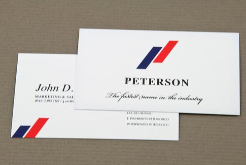 Upscale Automobile Company Business Card