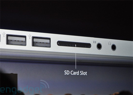 mac book sd card