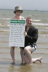 Paddy takes a Dip in the Nip for Breast Cancer (Paddy's Little Helper) Tags: betting skinnydipping royalascot paddypowercom paddypower actionbreastcancer dipinthenip maregarvey