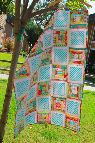 Quilt in the sun