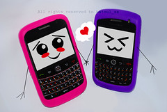 BlackBerry Friends LOOOOL XD (Albatoul.H) Tags: pink friends black cute art love mobile berry funny phone blackberry purple faces smiles kawaii bb curve vector bold      jawal