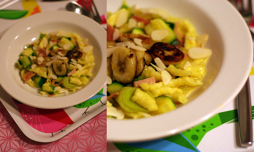 curry-bananen-spätzle