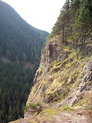 Little Si cliffs, near summit