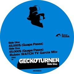 Gecko Turner - $45000 Guapa Pasea! (7-inch) LMNKV06