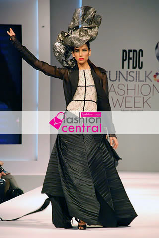 Fahad Hussayn's Collection at PFDC Sunsilk Fashion Week Lahore 2011