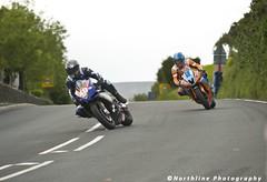 TT Practice 31-05-11 - 149 (Northline) Tags: road man motorcycle 40 signpost tt 18 races isle 2011 310511